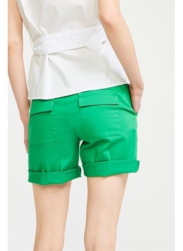 Just like you Şort Yeşil